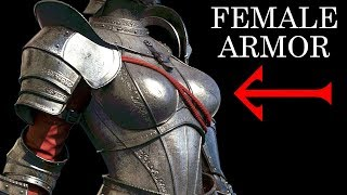 Female armor: Fantasy vs Reality