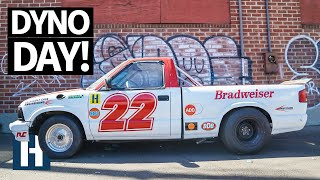 9 Seconds Ain't Easy: Dyno Time and a Brand New Look for Brad's Twin Turbo LS Chevy S10 Drag Truck!