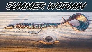 Summer Worm Fishing - Tricks To Catch Bigger Bass