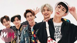 Top 10 K-Pop Boy Bands