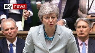 Breaking News: PM admits 'insufficient support' for third vote