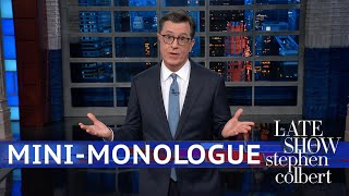 Colbert Mini-Monologue: Trump's Incoherent NYT Interview