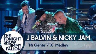 J Balvin & Nicky Jam:″Mi Gente″/″X″ Medley