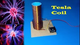 How to make a powerful Tesla coil