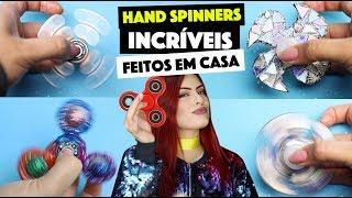 COMO FAZER SEU HAND SPINNER EM CASA - VÁRIAS IDÉIAS | KIM ROSACUCA