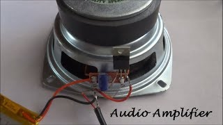 How To Make A Audio Amplifier With Bass Boost