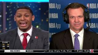 NBA GameTime crew react to Kyle Kuzma 29 Pts, Los Angeles Lakers LOSS TO Cleveland Cavaliers 101-95