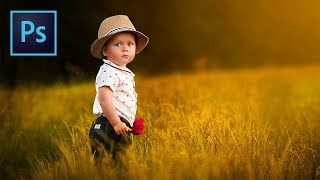 ″Soft″ Style Dreamy Child Portrait Edit in Photoshop | PiXimperfect