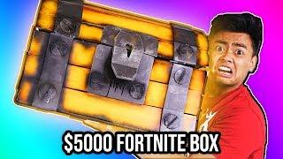 UNBOXING a $5000 DIAMOND Fortnite Mystery Box!