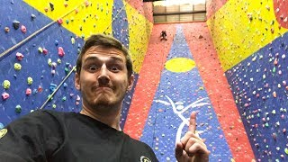 Indoor Rock Climbing.. GONE SEXUAL!