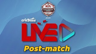 Cricbuzz LIVE: Match 41, Chennai v Hyderabad, Post-match show