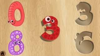 Baby Puzzle Games - Kids learn animals, numbers, alphabet, fruits and colors - Fun Educational