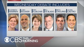 How candidates are prepping for first round of Democratic debates