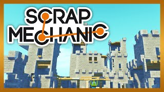 Scrap Mechanic - Castle Destruction 2v2 med Stamsite Toffe och Edwin