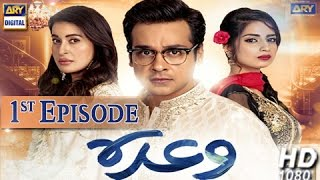 Waada 1st Episode - 9th November 2016 - ARY Digital Drama