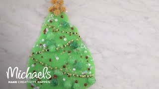DIY Christmas Tree Slime! | Michaels