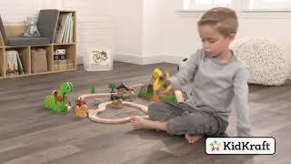Lesena železnica ″Dinozavri″ Kidkraft