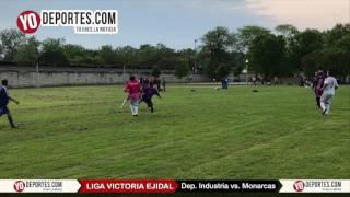 Deportivo Industria vs Monarcas Veteranos Liga Victoria Ejidal Soccer League