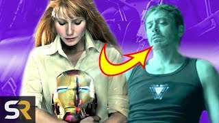 Avengers: Endgame Theory - How Will Tony Stark Get Back To Earth?