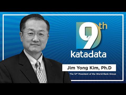 HUT Katadata-9: The 12th President of the World Bank Group - Jim Yong Kim, Ph.D | Katadata Indonesia