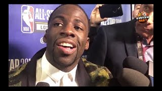 Draymond Green on his reaction during Fergie's National Anthem, new All Star format & more