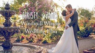 Christy + James :: Cinematic Wedding Film - Windmill Winery Florence Arizona