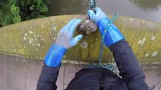 Bags of money found and road shut yet again magnet fishing #16