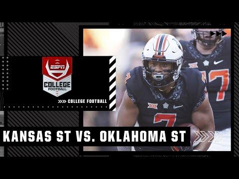 Kansas State Wildcats at Oklahoma State Cowboys   Full Game Highlights