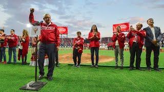 Inauguración del estadio de béisbol 'Alfredo Harp Helú', desde Ciudad de México.