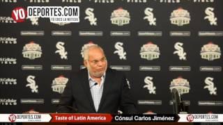 Carlos Martin Jiménez Macias cónsul de México White Sox Taste of Latin America 2016