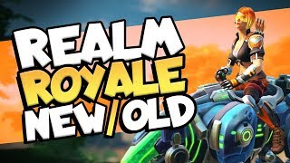 Is Realm Royale Better with 3 Abilities? | Hunter Solo Gameplay