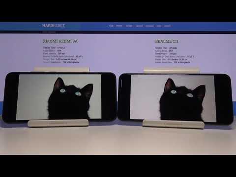 Display Comparison of XIAOMI Redmi 9A & REALME C11 – Devices Speed Test