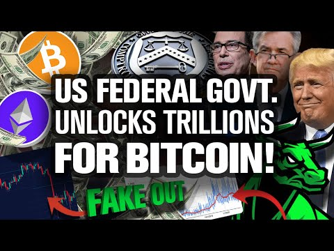 Sell Your BTC? NO! Why!? Fed's Trillions Are Coming!!