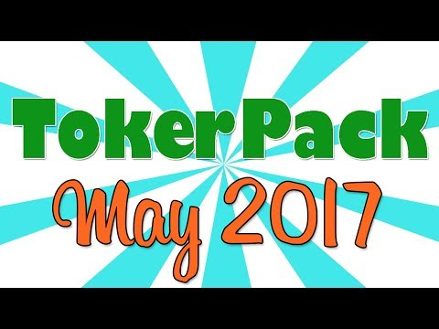 TOKERPACK UNBOXING!! (May 2017)