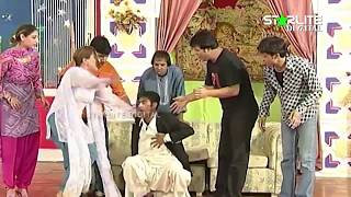 Best Of Sakhawat Naz and Tahir AnjumNew Pakistani Stage Drama Full Comedy Clip