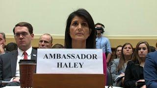 Haley: Trump's warning stopped Assad