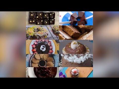 Gobble | YUMMY CHOCOLATE DESSERTS |  Chocolate Brownies | Chocolate Donuts | Chocolate Ice cream