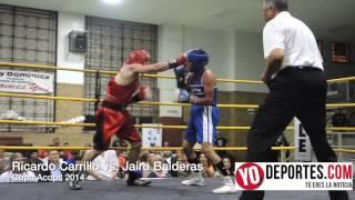 Ricardo Carrillo vs  Jairo Balderas Copa Acopil 2014