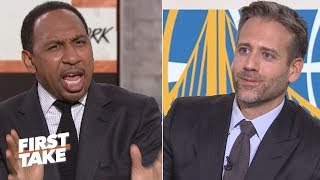 Stephen A. torches Max for saying Durant is not a top 5 NBA player | First Take