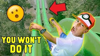 ″YOU WON'T DO IT″ WATERPARK CHALLENGE!! (Win $1000) | The Royalty Family