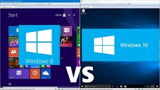 Comparing Windows 10 to Windows 8.1