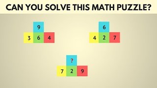 Can you Solve this Math Puzzle | Maths Puzzles with Solutions | Puzzle Games