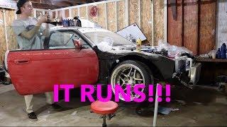 The Kouki's First Start!!! Late Night Street Drifting