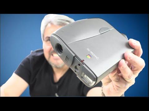 LA PRIMERA cámara DIGITAL de APPLE de 1995 Regresando al pasado QuickTake 150