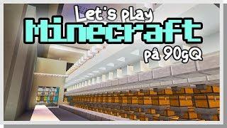 LP Minecraft på 90gQ #103 - Lilla sorteringen!