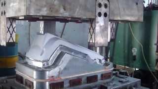 SMC mold trial