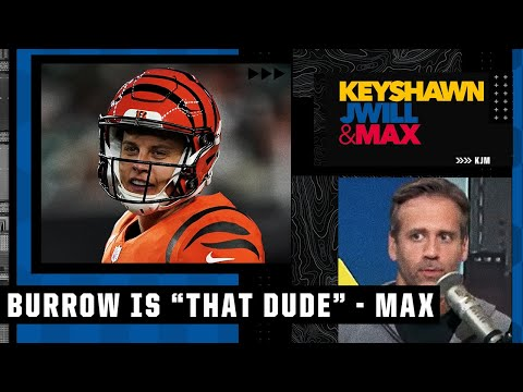 'Joe Burrow to me is THAT DUDE' - Max Kellerman reacts to the Bengals' win over the Jaguars | KJM