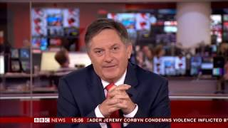 Simon McCoy shows enthusiasm over surfing dogs...