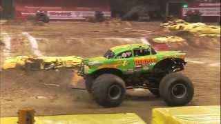 Monster Jam - Jim Koehler & Avenger Monster Truck Full Freestyle from New Orleans - 2012