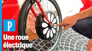 Cette roue transforme votre vieille bicyclette en vélo électrique